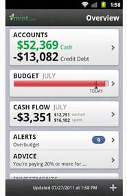 The Daily App: Mint for Android, iOS